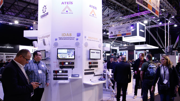 ATEÏS Europe B.V. at ISE 2019 – Integrated Systems Europe 2019