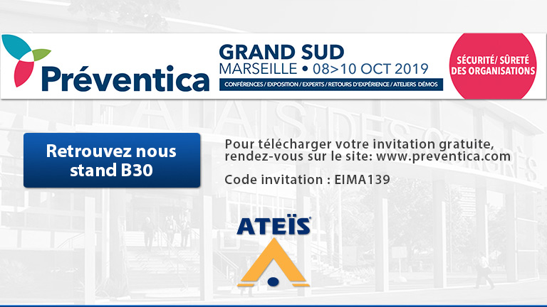 Meet our Voice Alarm Solutions at Préventica Marseille