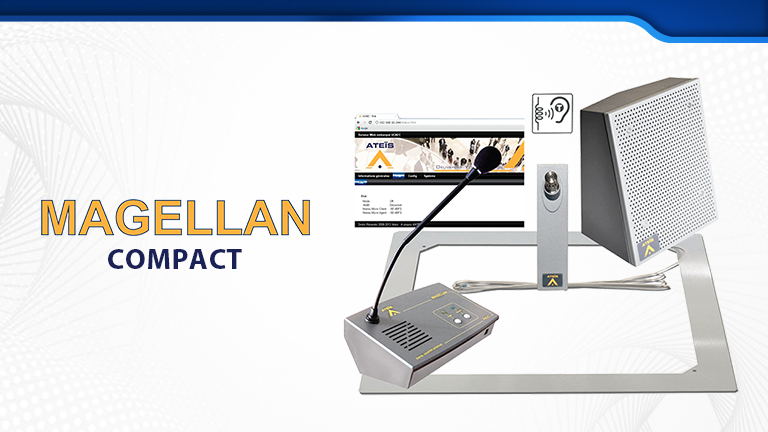 Our MAGELLAN Systems are ideally suited for secure information booths and service counters
