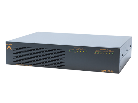 Security PAVA Power Amplifiers